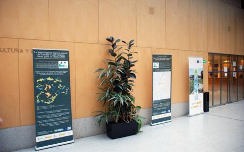 26/04/2016. Utilización en el seminario internacional del LIFE MedWetRivers. Consejería de Fomento y Medio Ambiente, Valladolid.