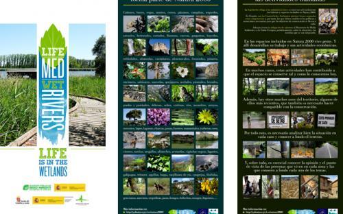 Exposición Red Natura 2000. Paneles 3 y 4.