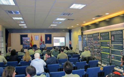 Jornada formativa realizada en Segovia.