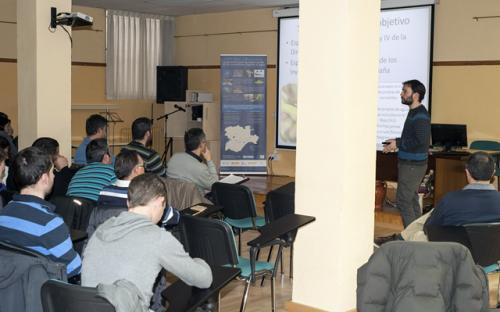 Jornada formativa realizada en Soria.
