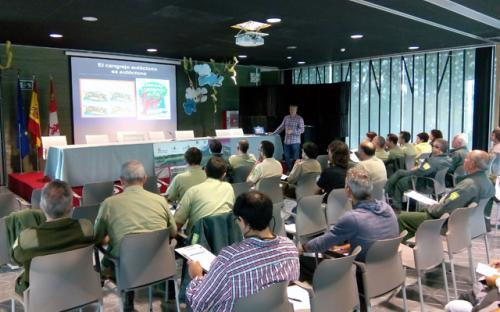Jornada formativa realizada en el PRAE de Valladolid.